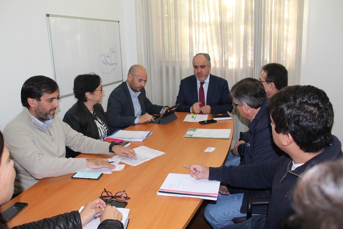 CChC sostuvo reunión protocolar con director del Serviu Ñuble noticias