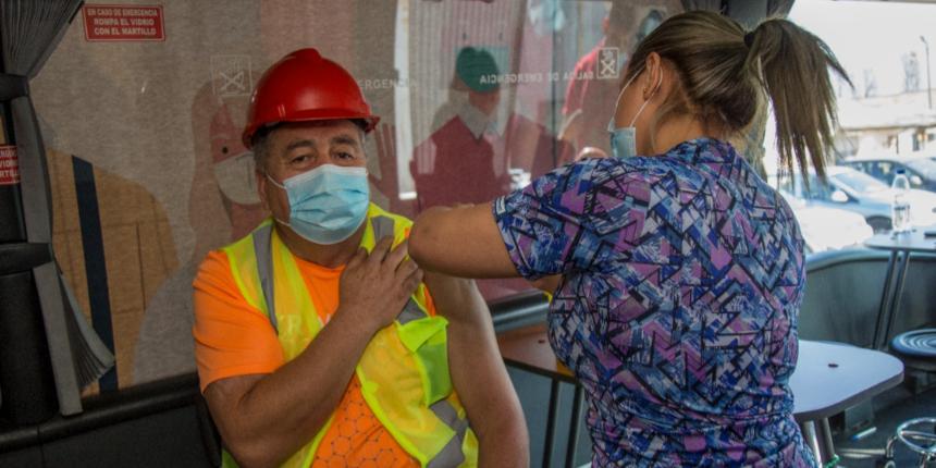 Vacunación en obras de la construcción: Yo Me Cuido, Yo Me Vacuno noticias
