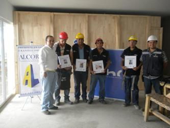 Alcorp S.A. participa de la Certificación de Competencias Laborales para el sector Construcción noticias
